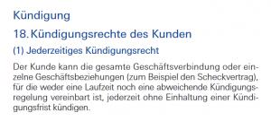 Gemeinschaftskonto bei der Deutschen Bank kündigen