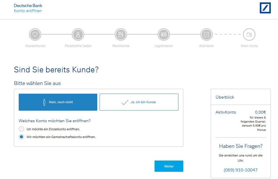 Gemeinschaftskonto Bei Der Deutschen Bank Alle Wichtigen Infos Tipps