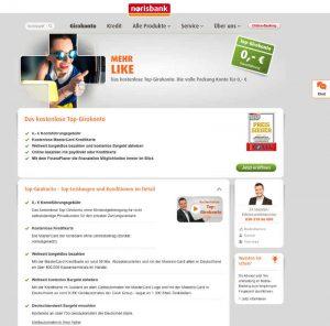 Gemeinschaftskonto bei der Norisbank Screenshot