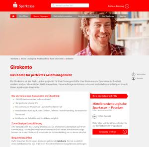 Sparkasse Screenshot